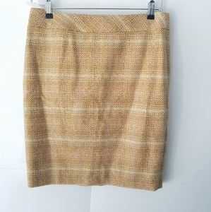 NWT J CREW FACTORY Sunnie Tweed Pencil Skirt
